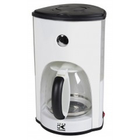 KALORIK TKG CM 1008 W Drip coffee maker 1.8l Weiß Kaffeemaschine (Transparent, Weiß)