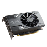 EVGA 06G-P4-6161-KR NVIDIA GeForce GTX 1060 6GB Grafikkarte (Grau, Silber)
