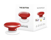 Fibaro The Button Wireless panic button (Rot)