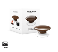 Fibaro The Button Wireless panic button (Braun)