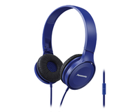Panasonic RP-HF100ME Binaural Kopfband Blau Headset (Blau)
