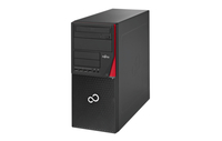 Fujitsu ESPRIMO P756/E90+ 3.7GHz i3-6100 Desktop Schwarz, Rot PC (Schwarz, Rot)