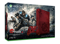 Microsoft Xbox One S Gears of War 4 Limited Edition (Rot)