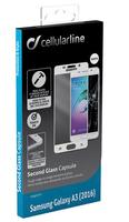 Cellular Line TEMPGCABGALA316W klar Samsung Galaxy A3 1Stück(e) (Transparent, Weiß)