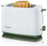 Severin AT 9930 Toaster (Grün, Weiß)