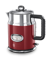 Russell Hobbs Retro Ribbon 1.7l 2400W Rot, Silber (Rot, Silber)
