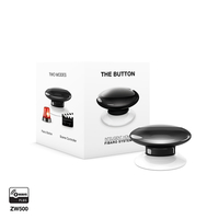 Fibaro The Button Wireless panic button (Schwarz, Weiß)
