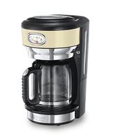 Russell Hobbs 21702-56 Freistehend Manuell Filterkaffeemaschine 1.25l 10Tassen Schwarz, Edelstahl Kaffeemaschine (Schwarz, Gold, Edelstahl)