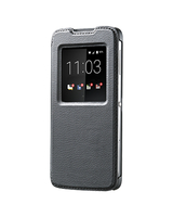 BlackBerry ACC-63008-001 5.2Zoll Mobile phone flip Schwarz Handy-Schutzhülle (Schwarz)