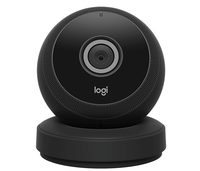Logitech Circle IP security camera Innenraum Kuppel Schwarz (Schwarz)