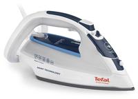 Tefal UltraGliss FV4970 Dampf 2500W Durilium Weiß Bügeleisen (Weiß)