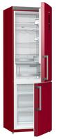 Gorenje NRK 6192 MR Freistehend 222l 85l A++ Metallisch, Rot (Metallisch, Rot)