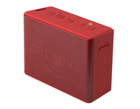 Creative Labs MUVO 2c Stereo Rechteck Rot (Rot)