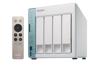 QNAP TS-451A-4G NAS Turm Eingebauter Ethernet-Anschluss Weiß NAS & Speicherserver (Grün, Weiß)
