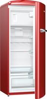 Gorenje ORB153R Kühlschrank mit Gefrierfach (Rot)