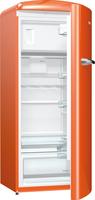 Gorenje ORB153O Freistehend 254l A+++ Orange Kühl- und Gefrierkombination (Orange)