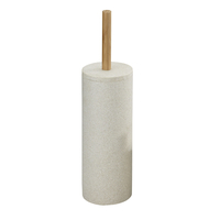 WENKO 18170100 WC-Bürste & Halter Toilettenbürste und -halter (Beige)