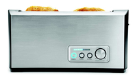 Gastroback 42398 Toaster (Schwarz, Edelstahl)