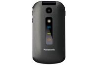 Panasonic KX-TU329EXME 2.4Zoll 114g Schwarz, Grau Handy (Schwarz, Grau)