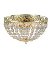 Markslöjd SAXHOLM E14 Gold, Transparent Deckenbeleuchtung (Gold, Transparent)