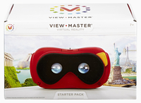 View-Master DLL68 Head-Mounted Display (Schwarz, Rot, Weiß)