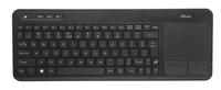 Trust Veza Touchpad Keyboard RF Wireless QWERTY Englisch Schwarz (Schwarz)