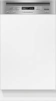 Miele G 4820 SCi Unterbau 9Stellen A++ Edelstahl, Weiß (Edelstahl, Weiß)