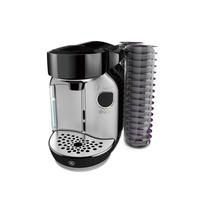 Bosch TAS75SE2 Pad-Kaffeemaschine 1.2l Schwarz, Edelstahl Kaffeemaschine (Schwarz, Edelstahl)