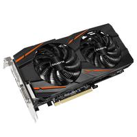 Gigabyte GV-RX480G1 GAMING-8GD AMD Radeon RX 480 8GB Grafikkarte (Schwarz)