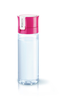 Brita Fill&Go Bottle Filtr Pink Wasserfiltration Flasche Pink,Transparent (Pink, Transparent)
