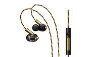 ONKYO E900M im Ohr Binaural Verkabelt Schwarz Mobiles Headset (Schwarz, Gold)
