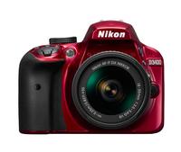 Nikon D3400 + AF-P DX 18-55 mm 1:3.5-5.6G VR 24.2MP CMOS 6000 x 4000Pixel Rot (Rot)