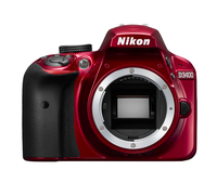 Nikon D3400 24.2MP CMOS 6000 x 4000Pixel (Rot)