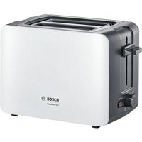 Bosch TAT6A111 1090W Graubraun, Weiß Toaster (Graubraun, Weiß)