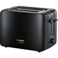 Bosch TAT6A113 1090W Schwarz Toaster (Schwarz)