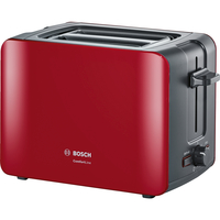 Bosch TAT6A114 Toaster (Anthrazit, Rot)