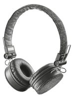 Trust Fyber Kopfband Binaural Verkabelt/Kabellos Grau Mobiles Headset (Grau)
