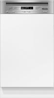 Miele G 4720 SCi Integrierbar 9Stellen A+ Edelstahl, Weiß (Edelstahl, Weiß)