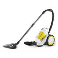 Kärcher VC 3 Premium Zylinder-Vakuum 0.9l 700W Weiß, Gelb (Weiß, Gelb)