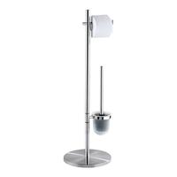 WENKO 18452100 WC-Bürste & Halter Toilettenbürste und -halter (Chrom)