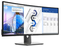 DELL UltraSharp U3417W 34.14Zoll UltraWide Quad HD IPS LED display (Schwarz)