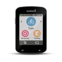 Garmin Edge 820 Bundle 2.3Zoll Wireless bicycle computer Schwarz (Schwarz)