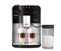 Melitta Caffeo Barista T Freistehend Vollautomatisch Espressomaschine 1.8l Schwarz, Edelstahl (Schwarz, Edelstahl)
