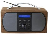 Soundmaster DAB600 Uhr Digital Braun Radio (Braun)