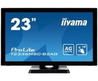 iiyama ProLite T2336MSC-B2AG 23Zoll 1920 x 1080Pixel Multi-touch Schwarz Touchscreen-Monitor (Schwarz)