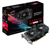 ASUS ROG STRIX-RX460-4G-GAMING Radeon RX 460 4GB GDDR5 (Schwarz)