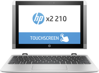 HP X2 210 G2 1.44GHz x5-Z8350 10.1Zoll 1280 x 800Pixel Touchscreen Silber (Silber)