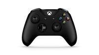 Microsoft 6CL-00002 Gamepad Xbox One,Xbox One S Schwarz Spiele-Controller (Schwarz)