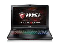 MSI Gaming GE62VR-6RFAC16H21 (Apache Pro) 2.6GHz I7-6700HQ 15.6Zoll 1920 x 1080Pixel Schwarz (Schwarz)