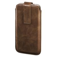 Hama Slide Mobile phone pouch Braun (Braun)